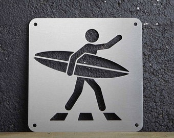 "ICONIC ""Surf walk"" plate"