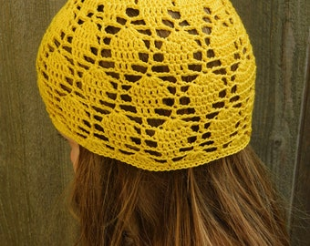 Crochet Girls Summer Hat-Handmade in Canada