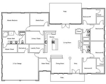 Die Hamilton House   B, Haus Pläne, Zollamt, Architektonische Entwürfe,  Pläne,