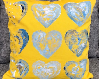 Handpainted/Decorative Cushions/Homeware Gifts/Bedroom Accessories