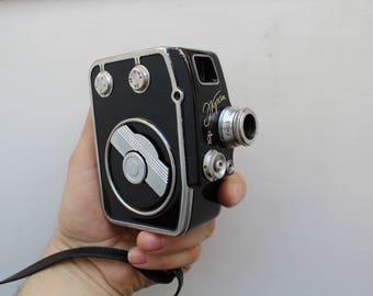 Vintage Soviet Movie Ekran, 8mm,Vintage Soviet Film Camera, Collectible Camera, Film Camera, USSR camera, Vintage camera, Movie camera