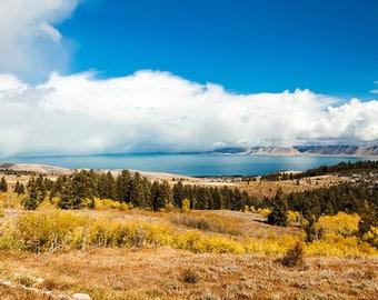 Bear Lake Fall View-  Landscape Utah Photography 20x40