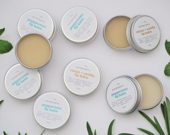 Natural Lip Balm with Organic Australian Beeswax - 10gm