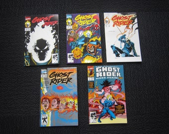 Ghost Rider lot - 1st new Ghost Rider, 1st appearance Deathwatch