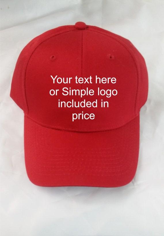 Custom Embroidered Flexfit Caps