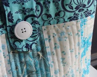 Striped Fat Quarter Tote Bag - PDF Sewing Pattern