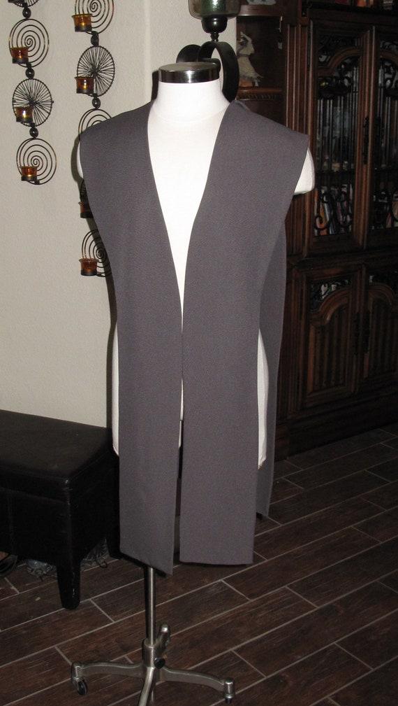 Gray poplin fabric tabards no sash in 10 sizes