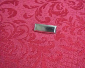 Vintage rectangular brooch