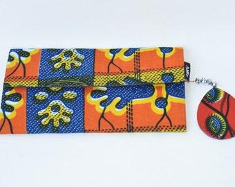 Wallets and money clips, Ankara Wallets, African Print Wallet, Kitenge Wallet,Wallets,Ankara Purse,African Print Purselet,Floral Purselet, M