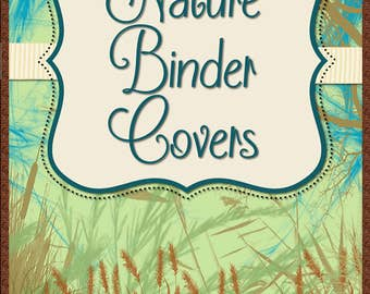 Nature Teacher Binder Covers