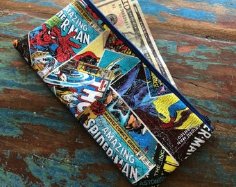 pencil zipper pouch marvel avengers