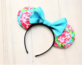 Flower and Garden Inspired Minnie Ears