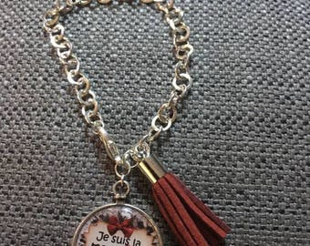 "Bracelet ""I am the perfect godmother"""
