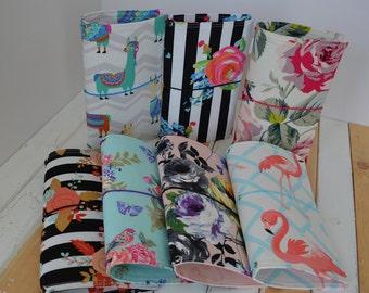 Cahier Standard Beautiful Fabric Travelers Notebook | Fauxdori