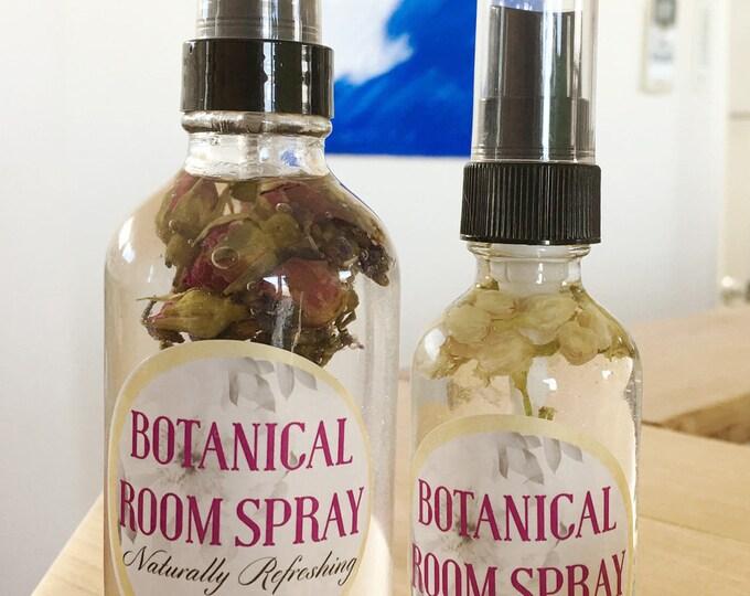 Aromatherapy Spray | Botanical Spray Naturally Refreshing | Flower Essence | Pillow Spray, room refresher | Natural Spray Perfume