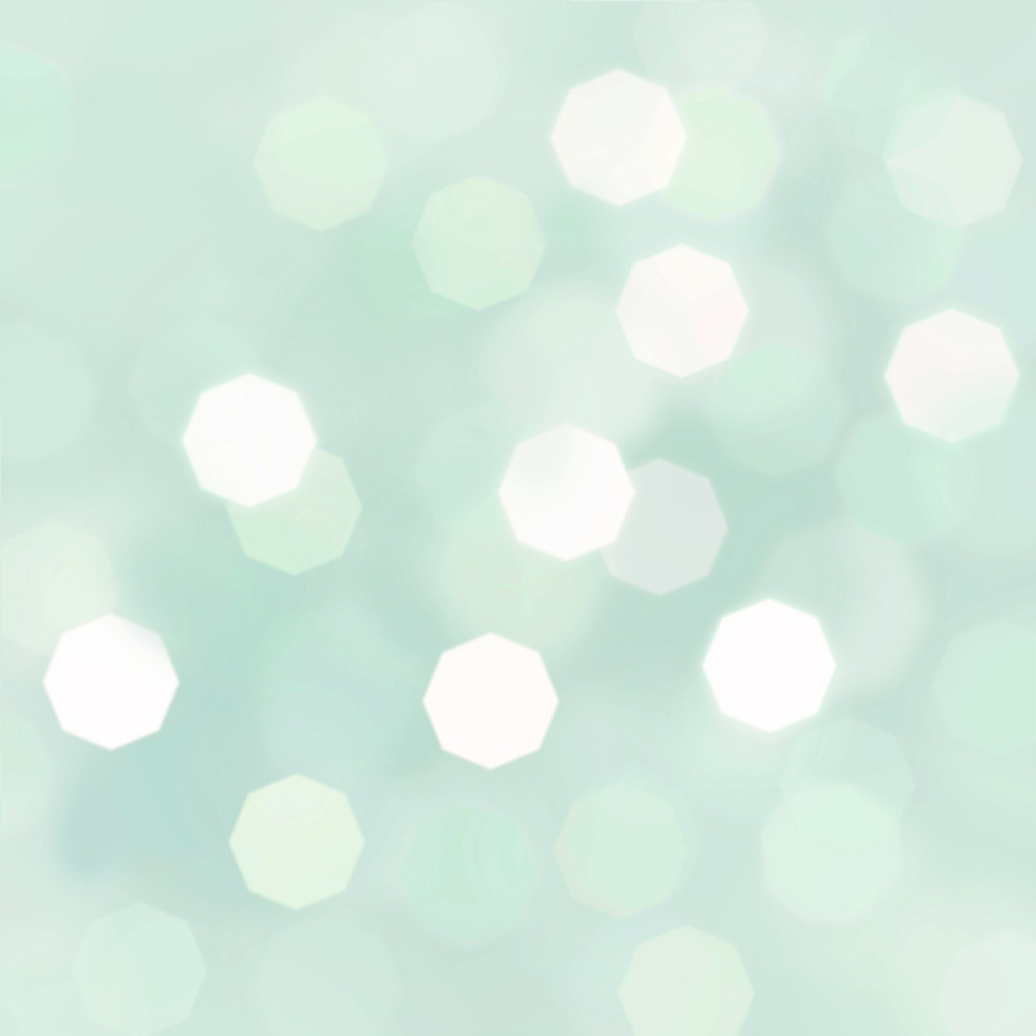 Spearmint Bokeh Background Pastel Mint Peppermint