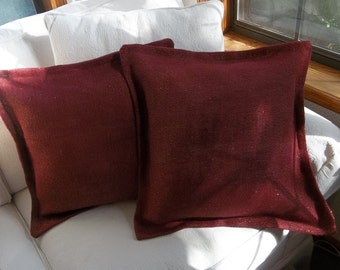 etsy il decorative suede pillow burgundy couch textured sofa deep x pillows cushion covers market