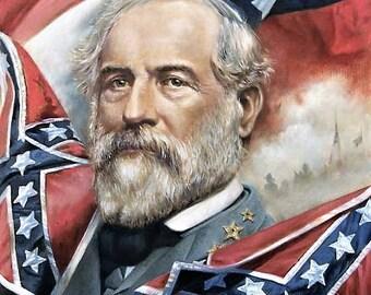 General Robert E. Lee , Civil War Print