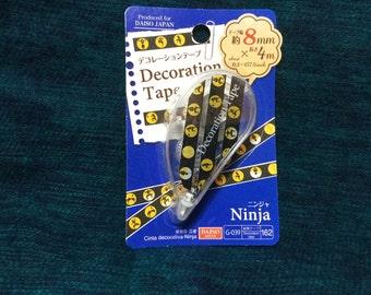 Ninja Mini Deco Tape from Japan