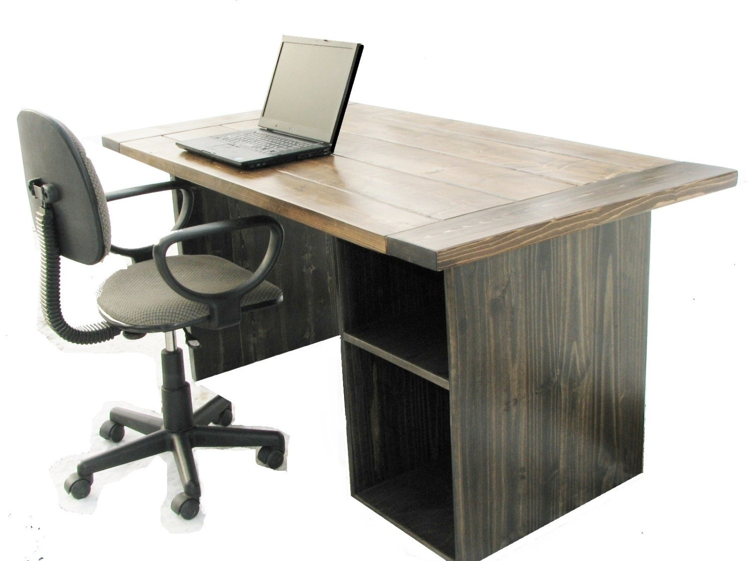 puter Desk Farmhouse Barnwood fice Desk Reception