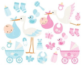 Stork baby shower girl clipart features congratulations baby boy clipart baby girl clipart baby stork clipart baby items clipart baby stroller clipart baby filmwisefo
