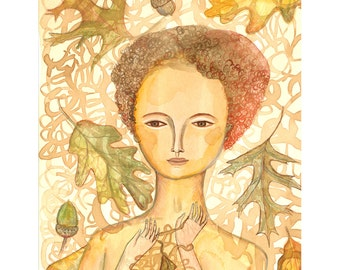 Limited Edition Giclee - Autumn - Jenny Mendes Design