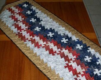 Patriot's Pinwheel flag pattern for Primitive Pinwheel tool - Digital download