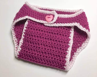 Light Weight (#3) Diaper Cover Crochet PATTERN ONLY - PDF