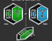 Level 16 Pin