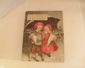 The Spirit of Christmas Book 6 1992 Holiday Gift Ideas Crafting Recipes Holiday Gift Ideas Hardcover