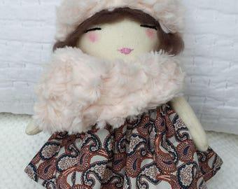 Handmade Ragdoll - Baby Shower - Nursery Decor Girls - Gift for Her - Gift for Girls - Pretty Ragdoll -