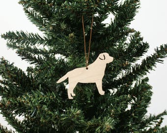 Labrador Ornament | Wood Ornament | Holiday Decoration | Labrador | Holiday Ornament | Christmas Ornament | Home Decor | Dog | Made in Maine