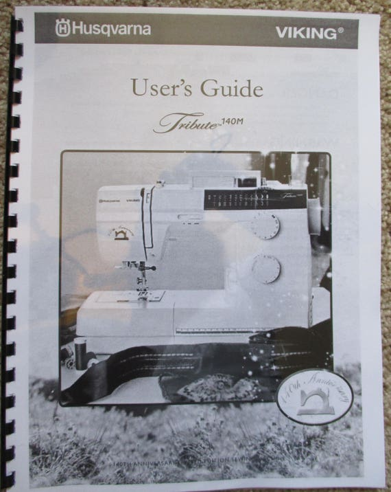 Viking owners manual array husqvarna viking tribute 140m sewing machine users guide rh etsy com fandeluxe Choice Image