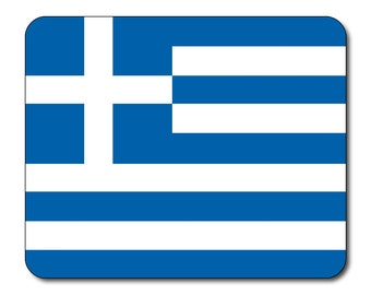 Greek Flag Mouse Mat Mouse Pad