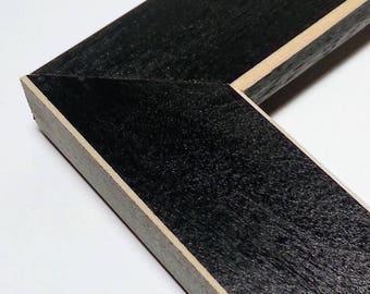 SHAKER Black Wood Picture Frame, Photo Frame, Choose Black, Red, Blue, Green, Simple, 4x6, 5x7, 8x10, 9x9, 11x14, 12x12, 16x20, 18x24 24x36