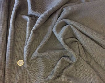 Fabric costume or tailor, woven taupe and black