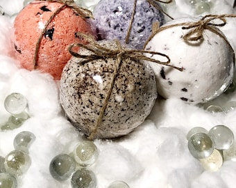 4 Assorted Bath Bombs Gift Set| Self-Care|