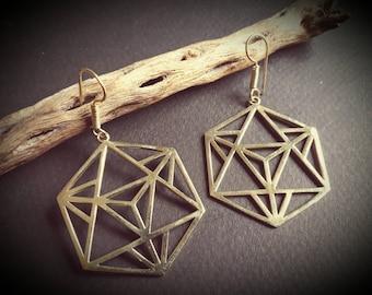 earrings *merkaba*