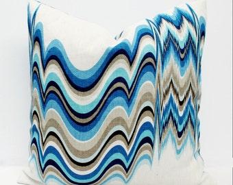 Jonathan Adler for Kravet, Distorted Pillow Cover
