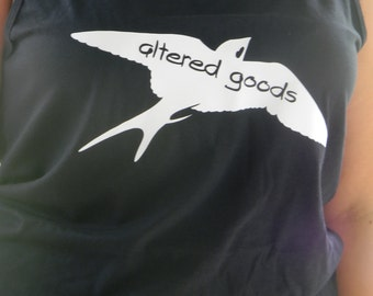 Altered goods logo tank top