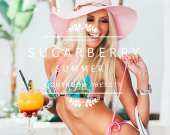 Summer Blogger Lightroom Presets Pack //SUGARBERRY// Bright Travel Lifestyle Lightroom Presets