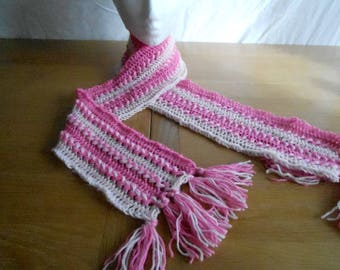 Hair Pin Lace Scarf