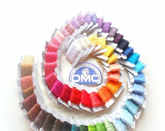 DMC Threads // PYO 30 // 8Mtr Length // Cross Stitch Skein // Cross Stitch Floss // Embroidery Threads