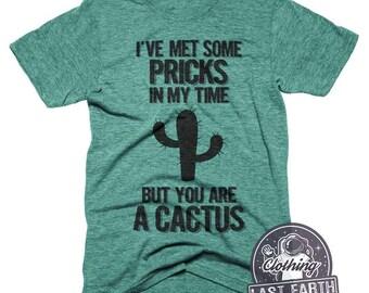 Cactus Shirt Funny Tshirts Gag Gift Cactus Plant Adult Humor Tshirt Funny Shirts Succulent Plants Shirt Mens Tshirts Graphic Tees For Women