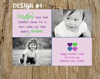 Customized Mother's Day Photo Card