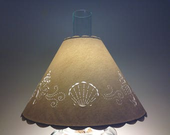 Unique Handmade Cut & Pierced Lampshades by BarbaraGailsLamps