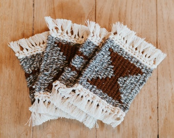 Hand Woven Coasters
