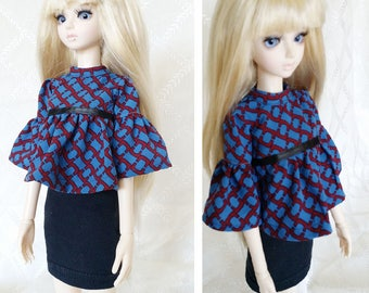BJD, MSD, Doll outfit, Doll clothes, Doll dress. Doll top, MSD Tops.