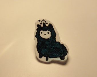 Cute Alpacacorn Pin Tumblr Shrinky Dink Pin