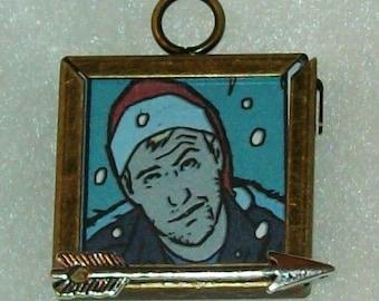 Mini Hawkguy Christmas Pendant